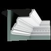 C307 - Listwa gzymsowa z ornamentacją, sztukateria Orac Decor, kolekcja Orac Decor Luxxus