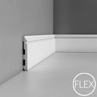 SX118 - Listwa przypodłogowa, sztukateria Orac Decor, kolekcja Orac Luxxus