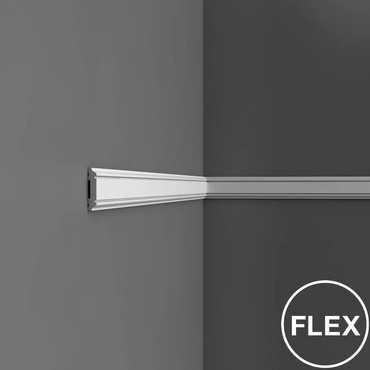 PX144 - Profil dekoracyjny gładki (listwa ścienna), sztukateria Orac Decor, kolekcja Orac Axxent