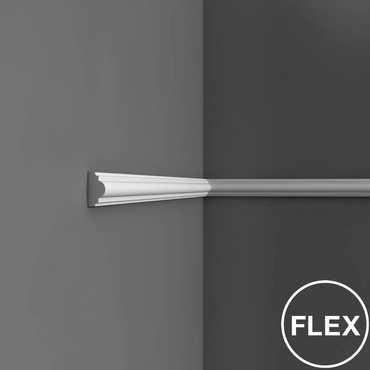 PX120 - Profil dekoracyjny gładki (listwa ścienna), sztukateria Orac Decor, kolekcja Orac Axxent