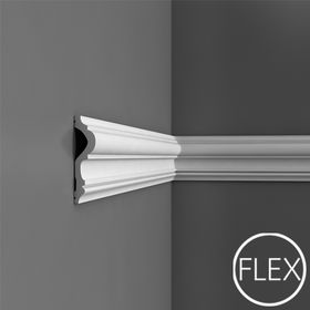 P8050/P8050F - Profil dekoracyjny (listwa ścienna)  gładka, sztukateria Orac Decor, kolekcja Orac Luxxus