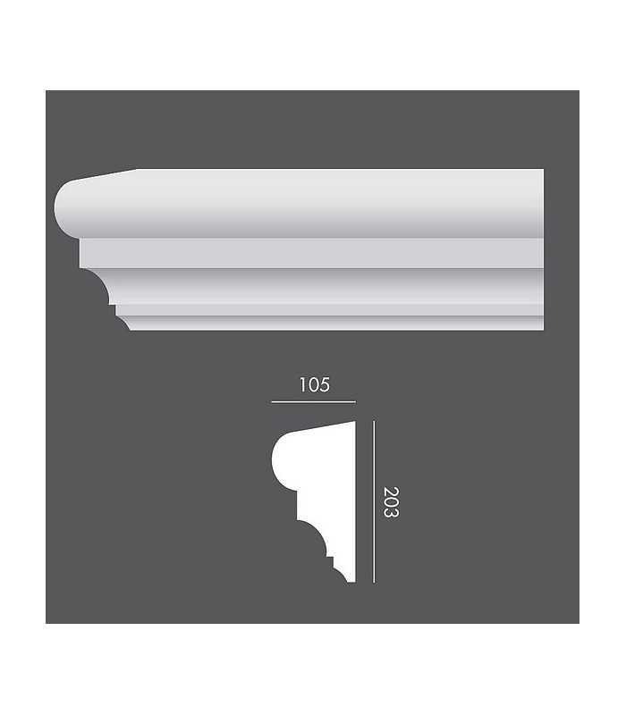 LP026 Profil elewacyjny, listwa elewacyjna