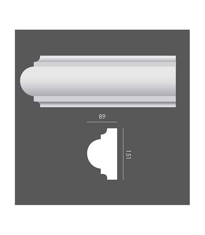 LP035 Profil elewacyjny, listwa elewacyjna