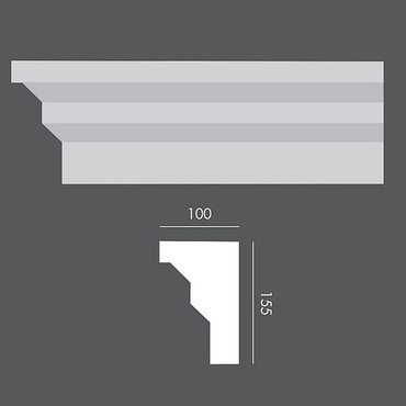 LP063 Profil elewacyjny, listwa elewacyjna