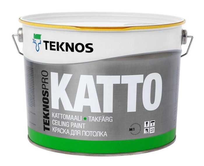 TeknosPRO Katto - antyrefleksyjna farba sufitowa