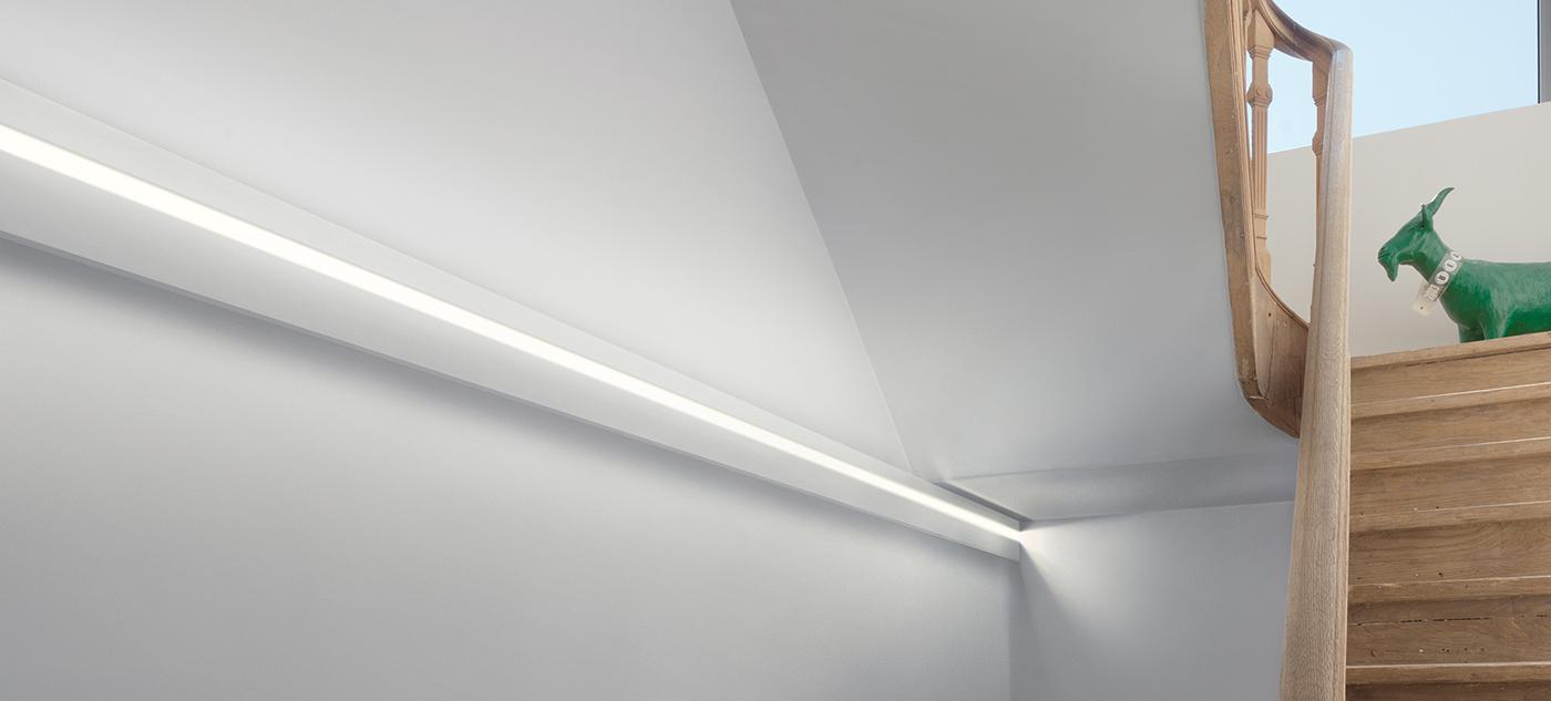 Listwy oświetleniowe sufitowe