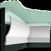 C372 - Listwa gzymsowa, oświetleniowa Orac Decor Luxxus