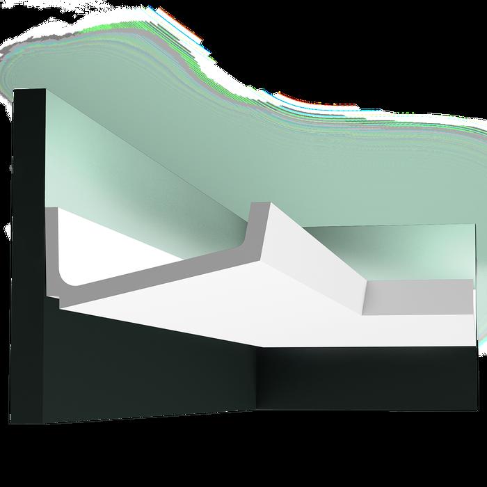 C352 Flat - Listwa gzymsowa, oświetleniowa Orac Decor Luxxus