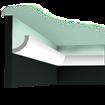 C362 Curve - Listwa gzymsowa, oświetleniowa Orac Decor Luxxus