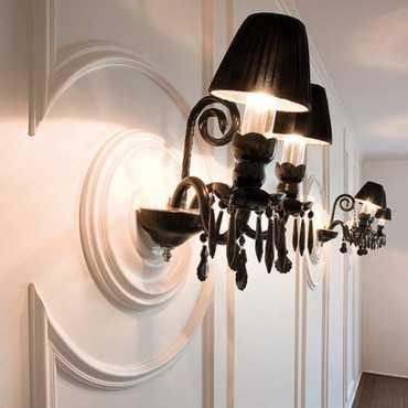 P8030/P8030F - Profil dekoracyjny (listwa ścienna)  gładka, sztukateria Orac Decor, kolekcja Orac Luxxus