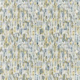 111663 – tapeta Kelambu Graphite/Mustard Anthozoa Harlequin