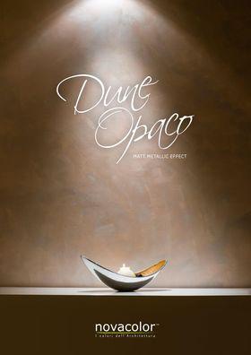Dune Opaco - Dekoracyjna farba metaliczna Novacolor