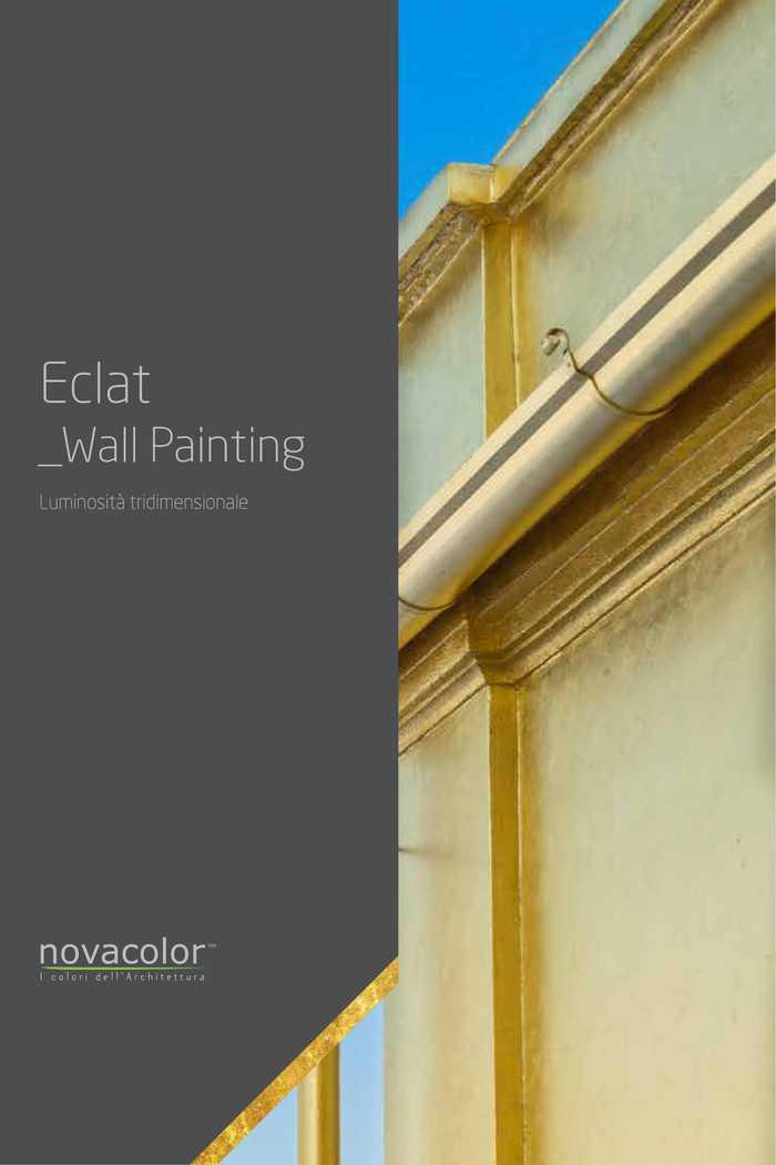 Eclat Dekoracyjny Tynk O Metalicznym Efekcie Złota Novacolor