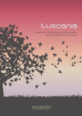 Tuscania Velature Silossanica - Dekoracyjna farba siloksanowa Novacolor