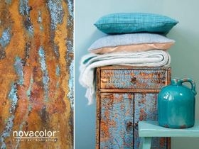 Verderame - Efekt powłoki dekoracyjnej – utleniona miedź  Novacolor
