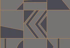 29043 – tapeta Groove Tinted Tiles Hooked On Walls