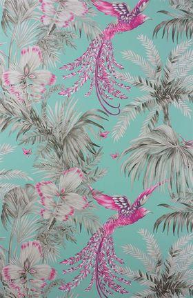 W6655-07 BIRD OF PARADISE Tapeta SAMANA Matthew Williamson