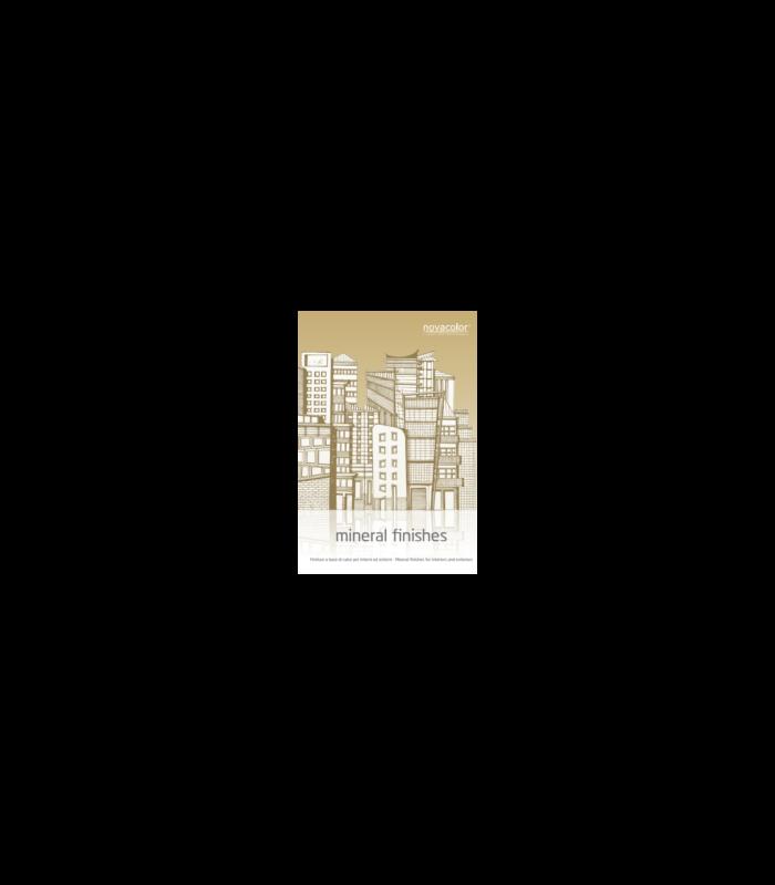 Novacolor Marmo Fine - Tynk wapienny, efekt betony, trawertyn
