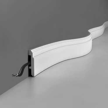 SX155/SX155F - Listwa przypodłogowa, sztukateria Orac Decor, kolekcja Orac Luxxus