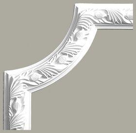 LNZ-05-1 Narożnik listwy ściennej , sztukateria Creativa