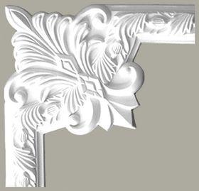 LNZ-05-2 Narożnik listwy ściennej , sztukateria Creativa