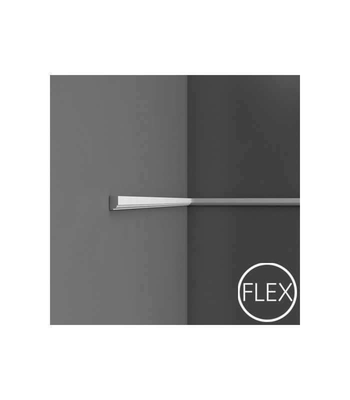 P9050/P9050F - Profil dekoracyjny (listwa ścienna)  gładka, sztukateria Orac Decor, kolekcja Orac Luxxus