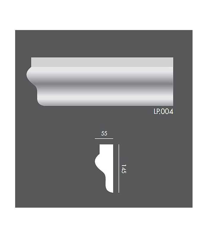 LP004 Profil elewacyjny, listwa elewacyjna