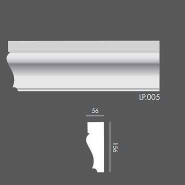 LP005 Profil elewacyjny, listwa elewacyjna