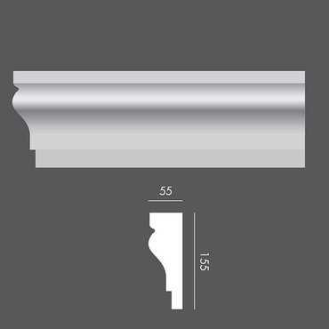 LP015 Profil elewacyjny, listwa elewacyjna