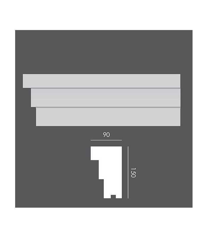 LP033 Profil elewacyjny, listwa elewacyjna