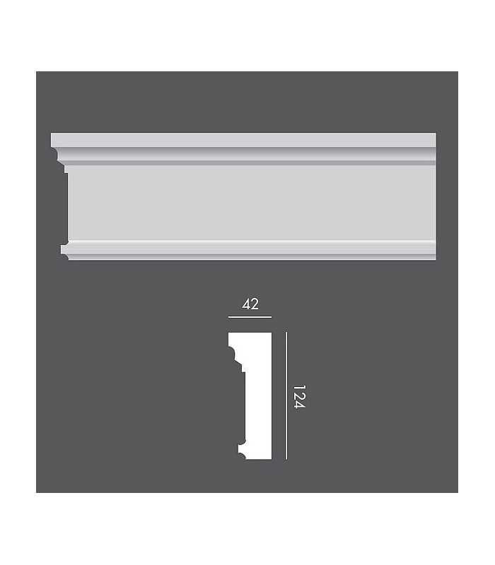 LP044 Profil elewacyjny, listwa elewacyjna