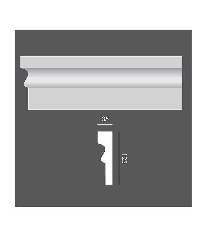 LP047 Profil elewacyjny, listwa elewacyjna