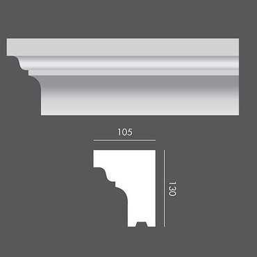 LP049 Profil elewacyjny, listwa elewacyjna