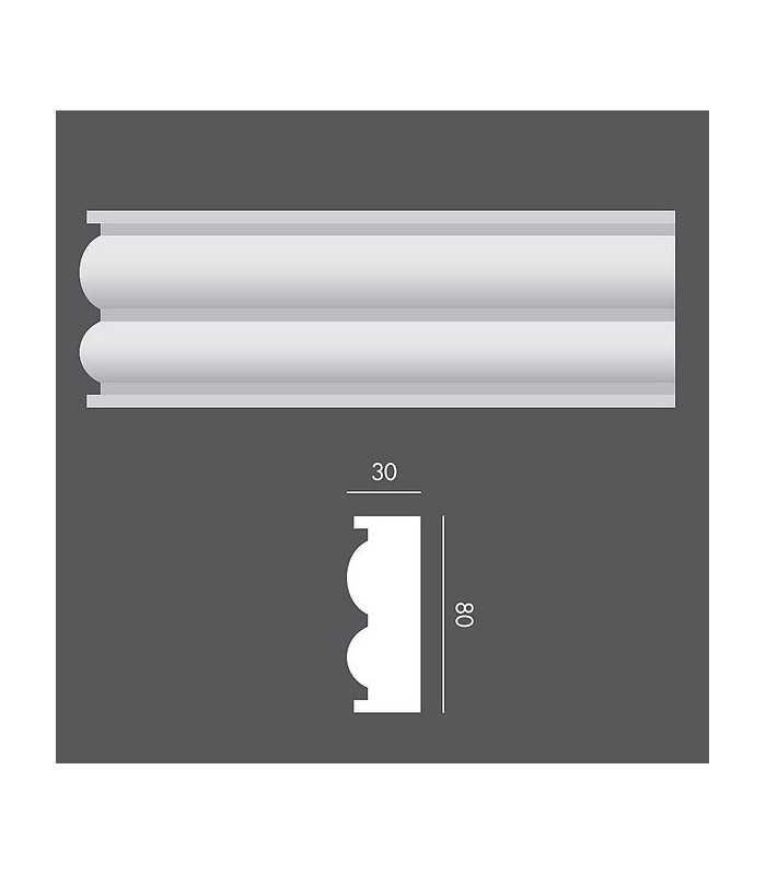 LP050 Profil elewacyjny, listwa elewacyjna