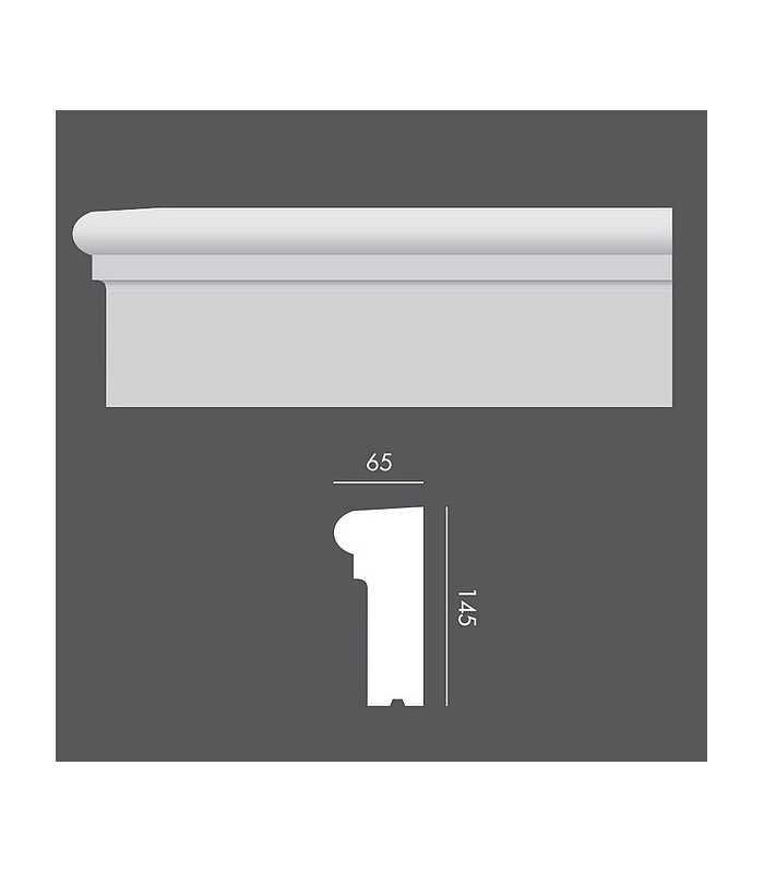 LP059 Profil elewacyjny, listwa elewacyjna