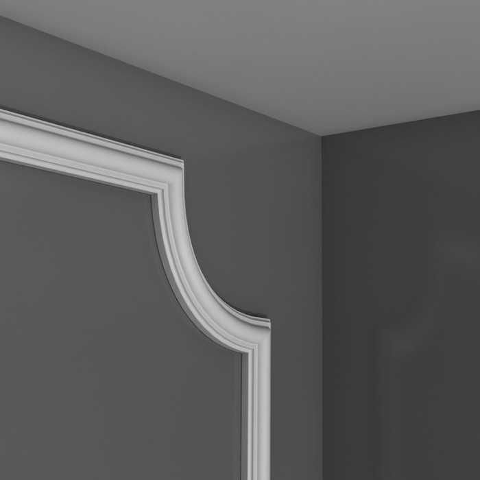 PX120A - Profil dekoracyjny gładki (listwa ścienna), sztukateria Orac Decor, kolekcja Orac Axxent