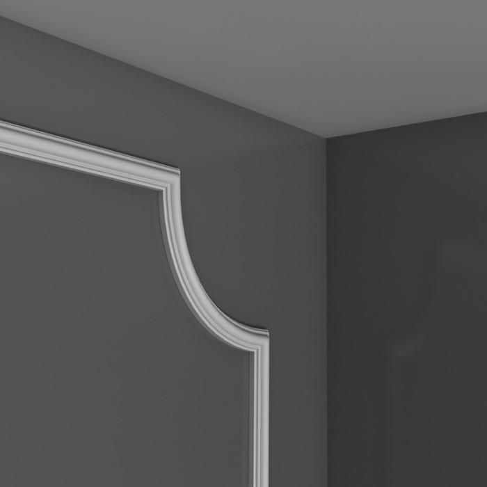 PX103A - Profil dekoracyjny gładki (listwa ścienna), sztukateria Orac Decor, kolekcja Orac Axxent