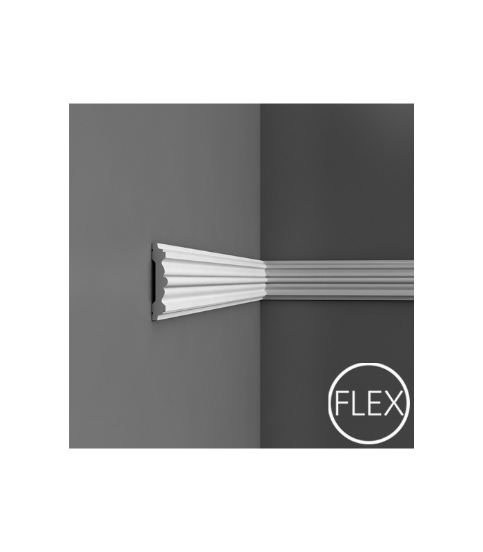 P9020/P9020F - Profil dekoracyjny (listwa ścienna) gładka, sztukateria Orac Decor, kolekcja Orac Luxxus