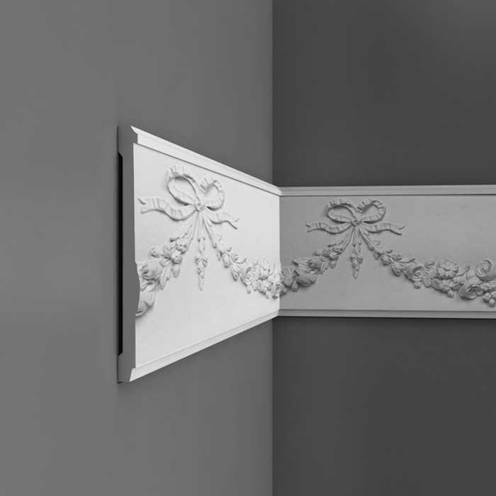 P7080 - Profil dekoracyjny (listwa ścienna)  z ornamentacją, sztukateria Orac Decor, kolekcja Orac Luxxus