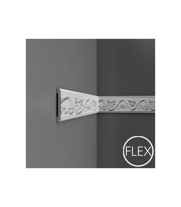 P7010/P7010F - Profil dekoracyjny (listwa ścienna) z ornamentacją, sztukateria Orac Decor, kolekcja Orac Luxxus
