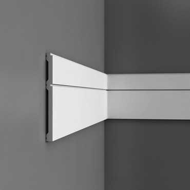 P5050 - Profil dekoracyjny (listwa ścienna)  gładka, sztukateria Orac Decor, kolekcja Orac Luxxus