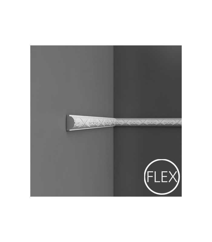 P2020/P2020F - Profil dekoracyjny (listwa ścienna) z ornamentacją, sztukateria Orac Decor, kolekcja Orac Luxxus